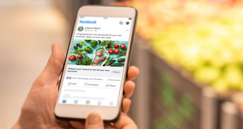 vendita di prodotti alimentari attraverso i gruppi facebook