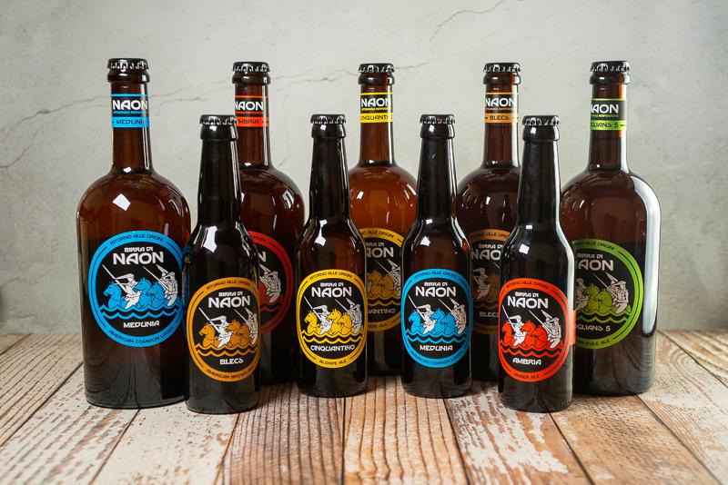 Selezione di Birre di Naon