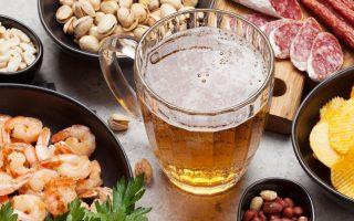 birra e possibili abbinamenti di cibo