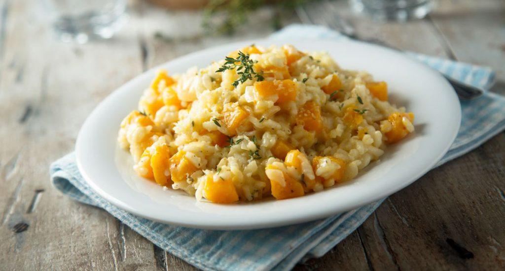 ricetta risotto al gorgonzola e albicocche