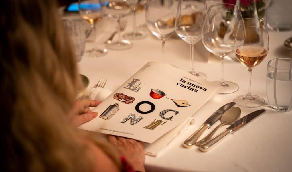 il menu della nuova cucina di fvg via dei sapori a tavola