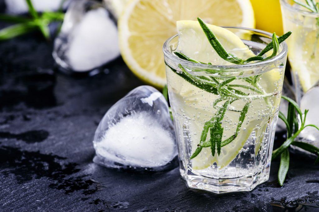 Vodka tonic con rosmarino e bergamotto ricetta per cocktail